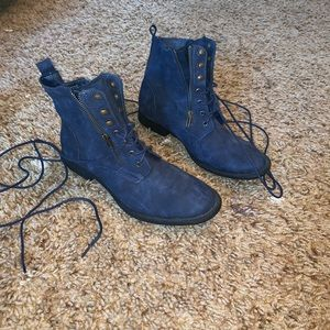 JUST FAB tie up boots